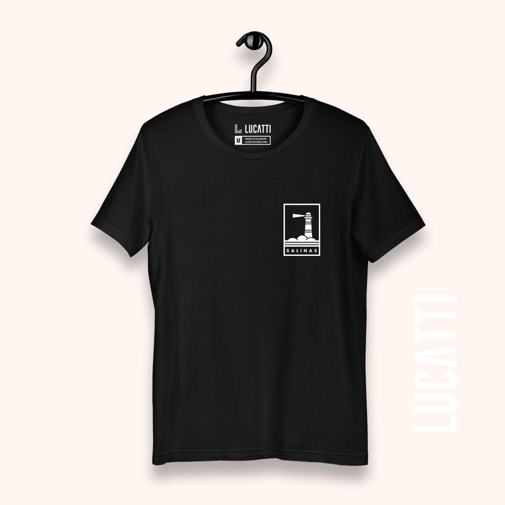 Camiseta-con-estampado-de-bolsillo-Salinas-faro-hombre-color-negro