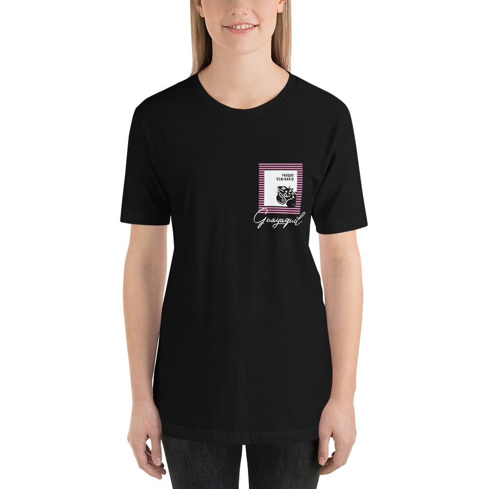 Camiseta con estampado de bolsillo Guayaquil Parque Las Iguanas mujer